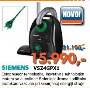 Usisivač VSZ4GPX1