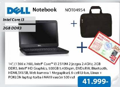 Laptop Notebook NOT04954