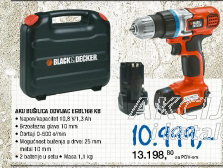 Akumulatorska bušilica odvijač EGBL 108KB Black & Decker
