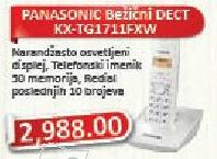 Bežični telefon Kx-Tg1711fxw