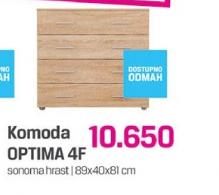 Komoda Optima 4F