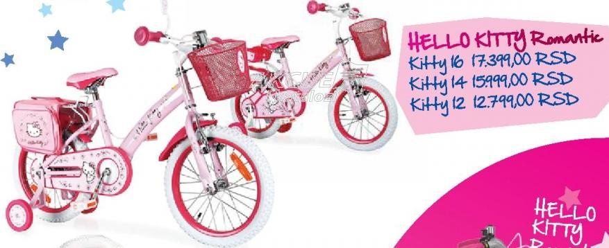 Dečije biciklo Hello Kitty Romantic 14