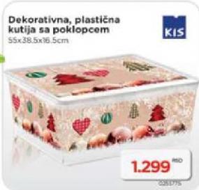 Dekorativna plastična kutija