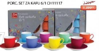 Porcelanski set za kafu 6/1 Ch 11117 Sigma