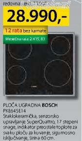 Ploča ugradna PKE645E14