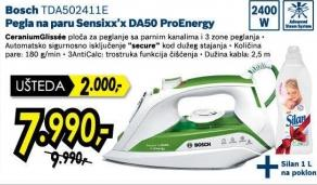Pegla na paru Sensixx'x DA50 ProEnergy Tda502411e + Poklon Silan 1l