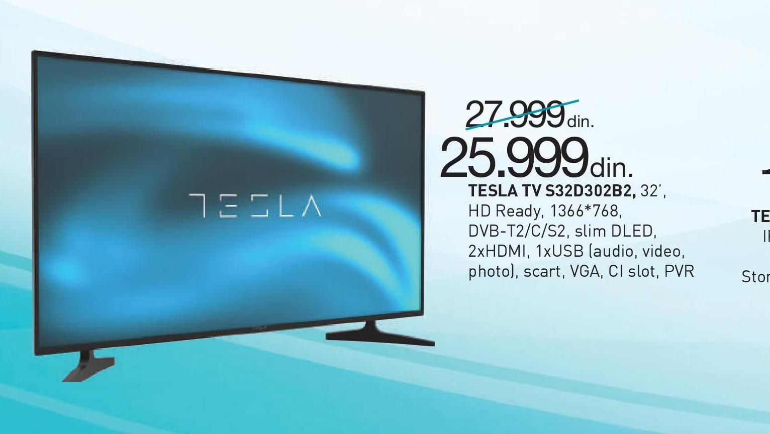 "Televizor LEC 32"" S32D302B2"