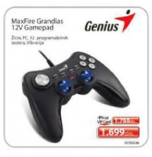 MaxFire Grandias 12V Gamepad