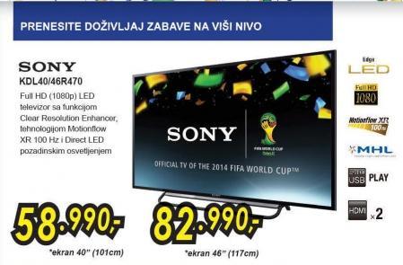 """Televizor LED 42"""" Kdl40r470"""