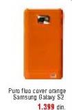 Zaštita/fluo cover orange, Pure,za Galaxy s2
