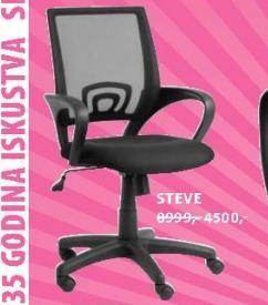 Kancelarijska stolica STEVE