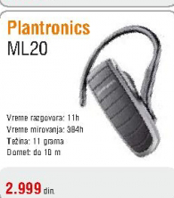 Bluetooth slušalice M20