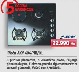 Ugradna ploča Akm404/nb/01