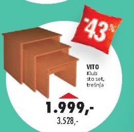Klub sto Vito- set