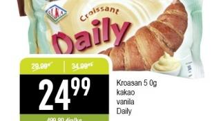 Kroasan vanila