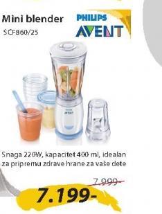 Mini blender SCF860/25