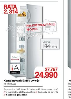 Kombinovani frižider RF4140AW