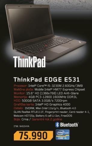 Laptop ThinkPad Edge E531 N4I2MYA