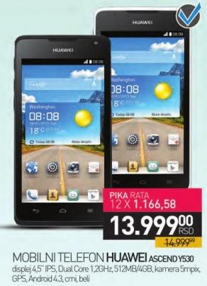 Mobilni telefon ASCEND Y530