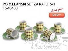 Porcelanski set za kafu 6/1 Ts 40448 Sigma