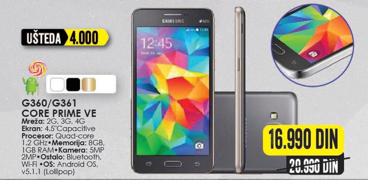 Mobilni telefon Galaxy Core Prime VE G360/G361