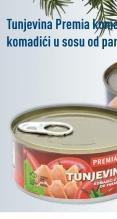 Tunjevina komadići u paradajz sosu
