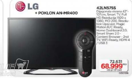 Televizor LED 42LN575S