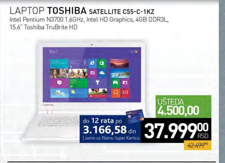 Laptop Satelite C55-C-1KZ
