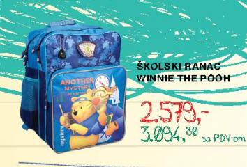 Školski ranac  Winnie The Pooh