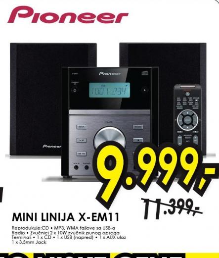 Mini Linija X-Em11