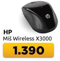 Miš bežični x3000