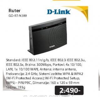 Ruter GO-RT-N300