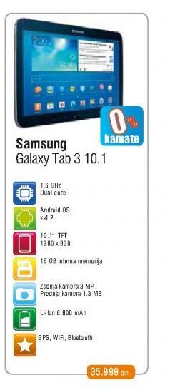 Tablet Galaxy Tab 3 10.1 P5210