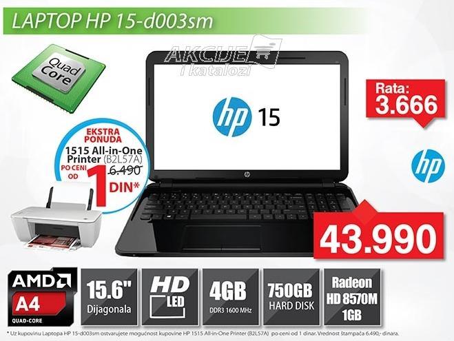 Laptop 15-d003sm