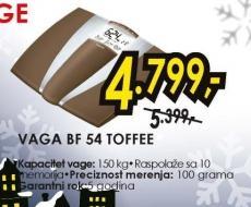 Vaga BF 54 Toffee