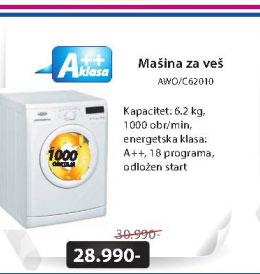 Mašina za veš AWO/C62010