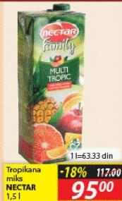 Sok tropikana mix