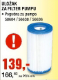 Uložak za filter pumpu