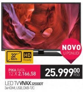 """Televizor LED 32"""" 32S50D"""