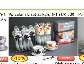 Porcelasnki set  za kafu YUK-220
