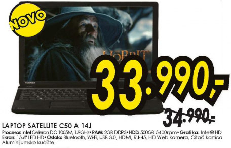 Laptop Satellite C50 A 14J