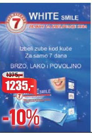 Kucno beljenje zuba cena