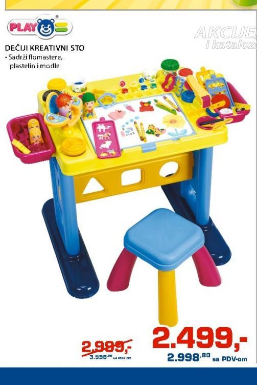 Dečiji kreativni sto