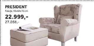 Fotelja PRESIDENT