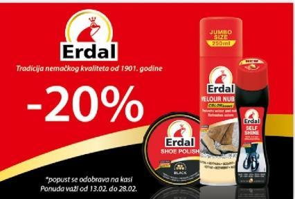 Erdal - 20%