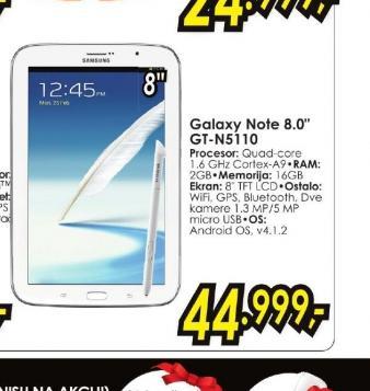 Tablet Galaxy Note N5110