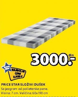 Dušek Složivi Price Star