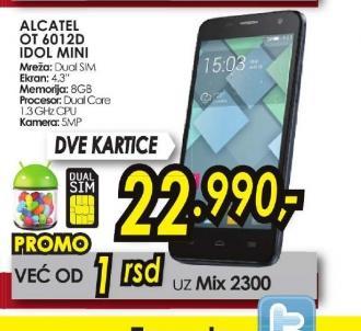 Mobilni telefon OT-6012D IDOL MINI