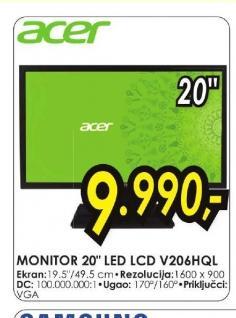Monitor V206HQL
