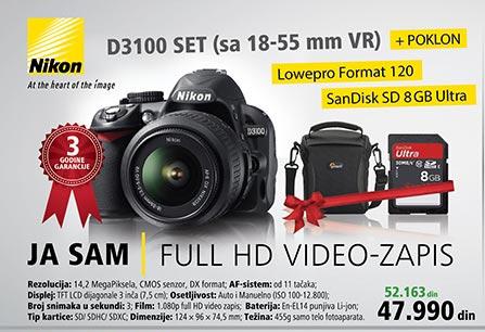 Digitalni fotoaparat D3100